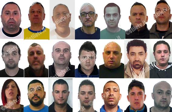 salerno blitz antidroga dei carabinieri 24 arresti in
